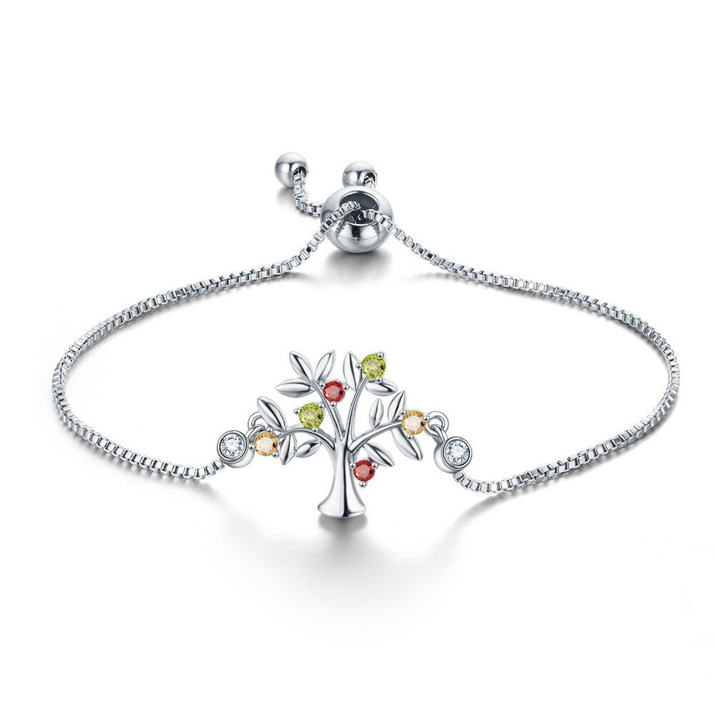 bracelet arbre de vie acier inoxydable