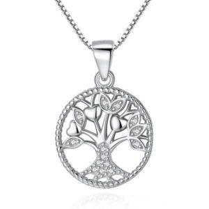 collier arbre de vie en argent