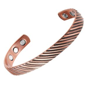 bracelet en cuivre magnétique