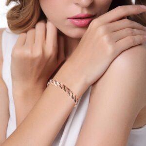 Bracelet en cuivre pas cher magnétique 6 aimants