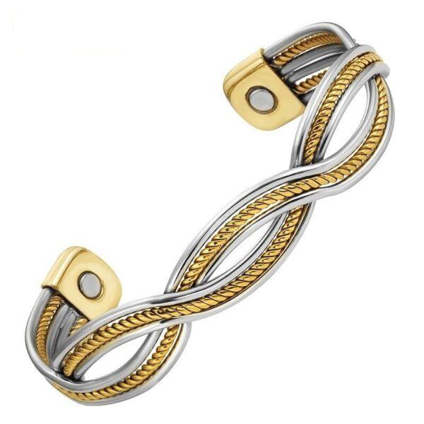 bracelet cuivre et acier