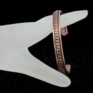 bracelet en cuivre fresque antique pas cher