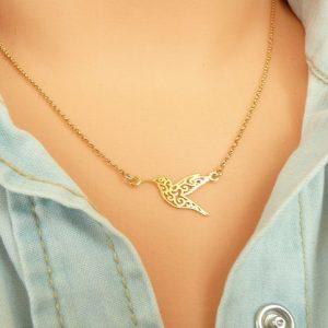 collier colibri