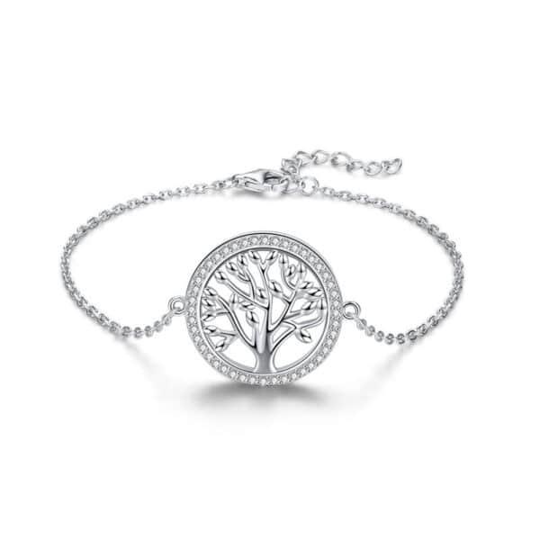 bracelet arbre de vie argent massif