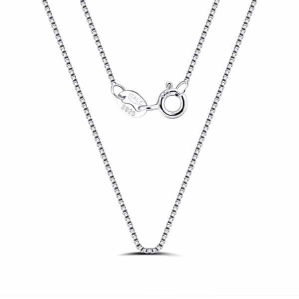 chaîne argent 925 vénitienne 45 cm